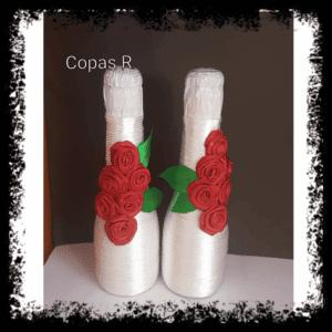 Botellas decoradas copas personalizadas - Botellas decoradas manualidades  300x300 - Página de inicio