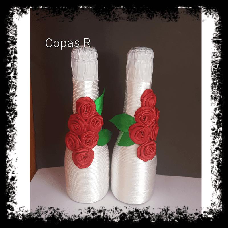 Botellas decoradas categoría: productos - Botellas decoradas manualidades  - Categoría: Productos