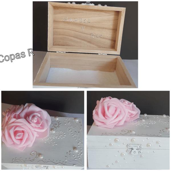 cajas de madera para arras