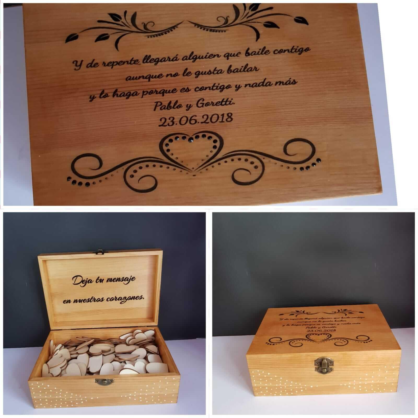 Caja de madera para libro de firmas caja de madera para libro de firmas - Caja de madera para libro de firmas 3 - Caja de madera para libro de firmas