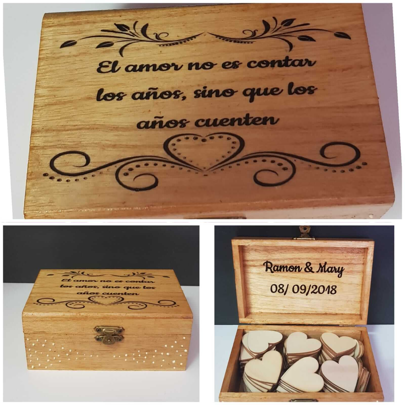Caja de madera para libro de firmas caja de madera para libro de firmas - Caja de madera para libro de firmas 2 - Caja de madera para libro de firmas