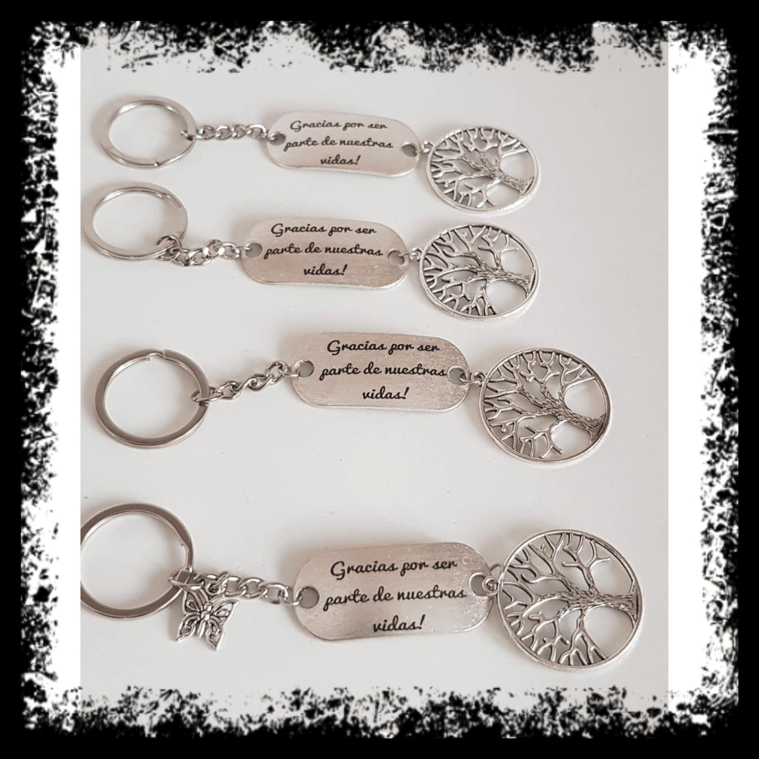 Detalles de Boda detalles de boda - regalos personalizados Llavero personalizado 6 - Detalles de Boda | Detalles para invitados