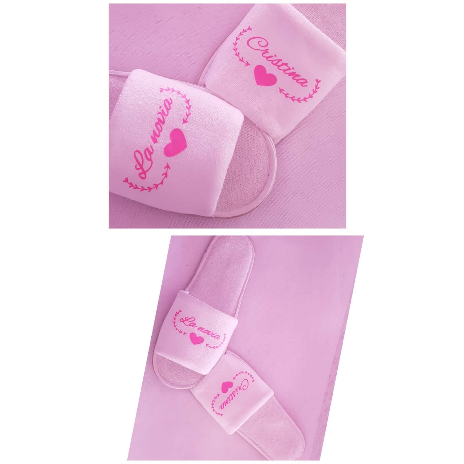 bata personalizada zapatillas personalizadas novia - Bata y Zapatillas Personalizadas 3 - Zapatillas personalizadas novia | Zapatillas personalizadas boda