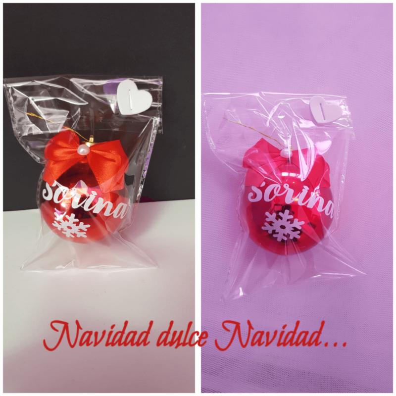 bolas de navidad personalizadas regalos personalizados porlanovia