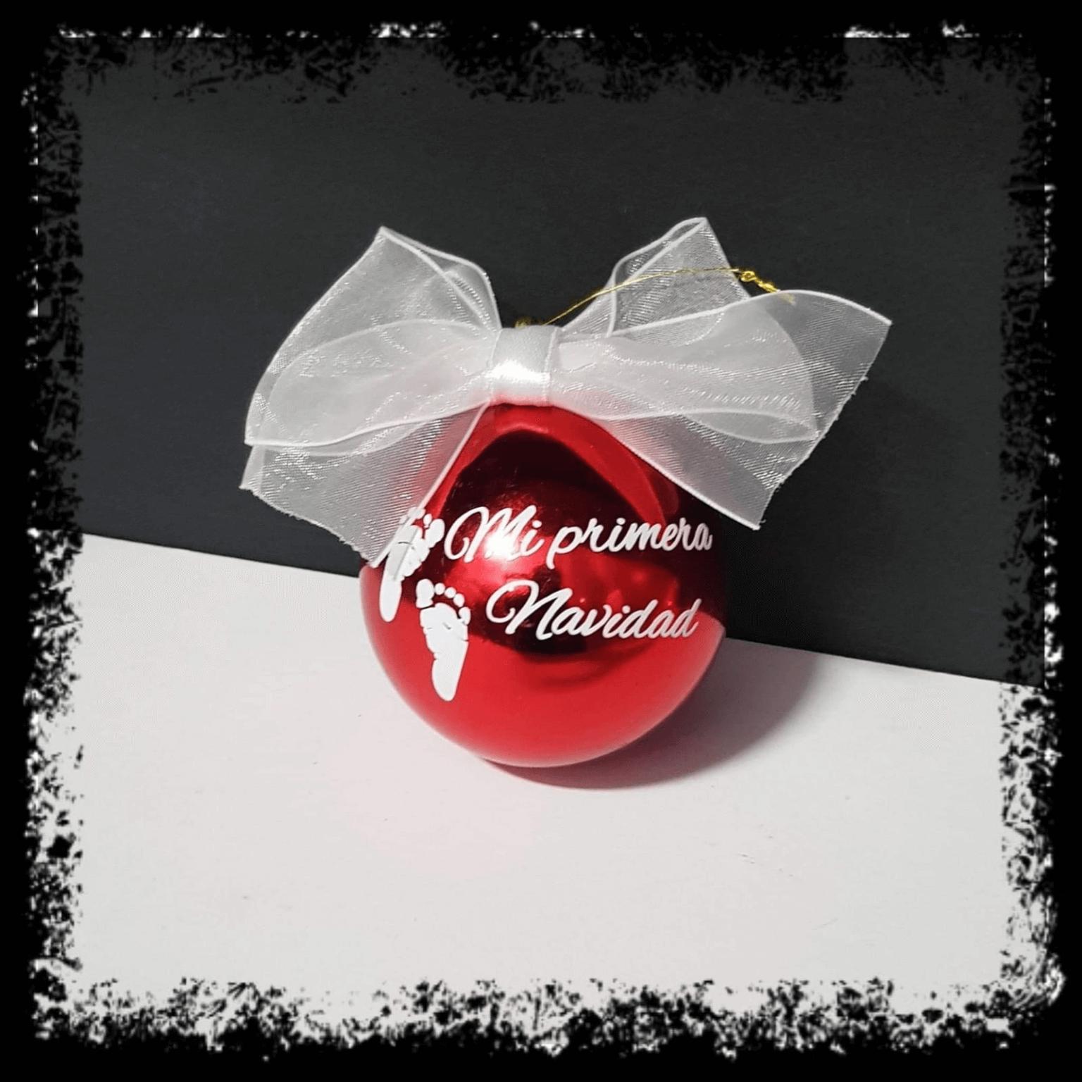 bolas de navidad personalizadas regalos personalizados