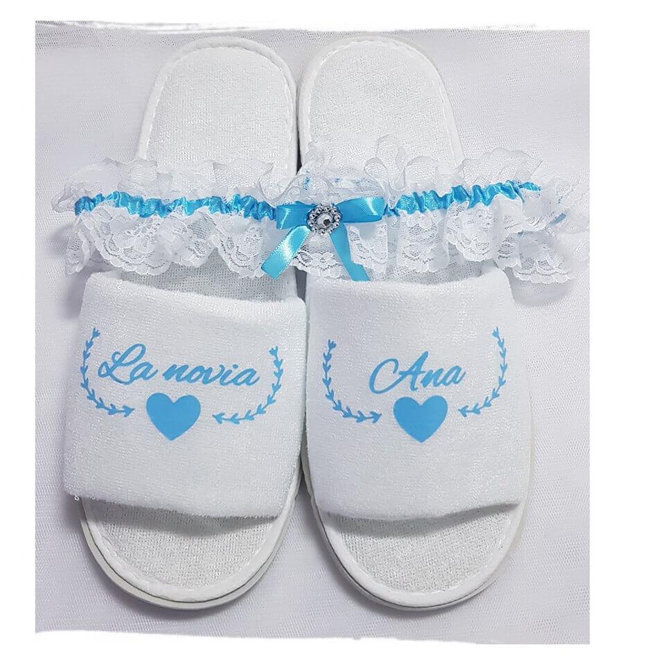 Zapatillas personalizadas novia zapatillas personalizadas novia - Batas y Zapatillas Personalizadas por la novia 1 - Zapatillas personalizadas novia | Zapatillas personalizadas boda
