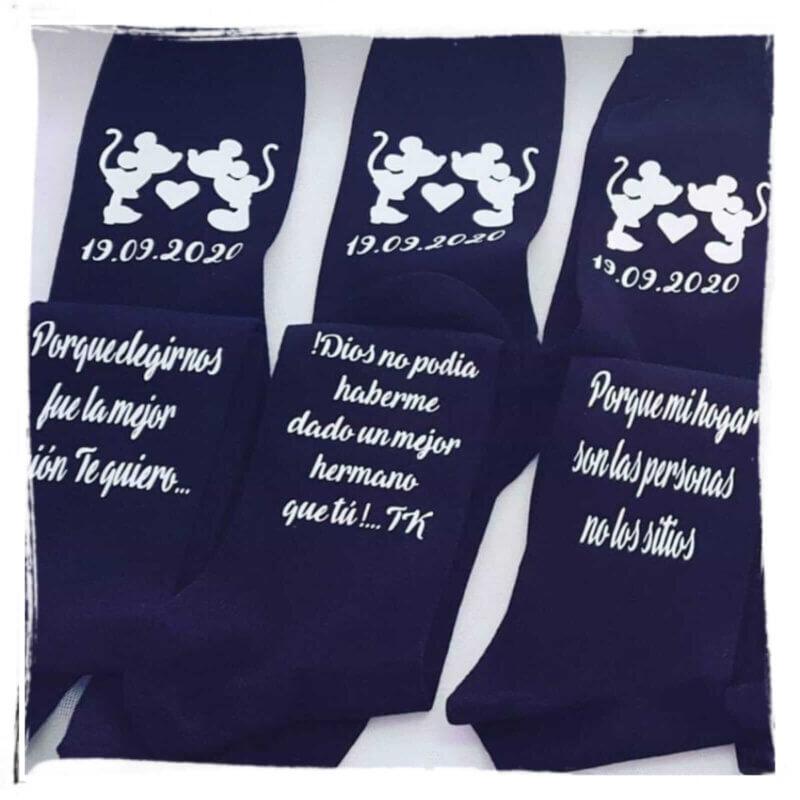 regalos personalizados delantales personalizados calcetines originales calcetines divertidos calcetines navideños personalizados objetos personalizados porlnovia