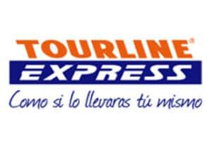 - fotos Fotos Logstica Tourline Express logo 300x207 - Sobre los Envios | PorLaNovia