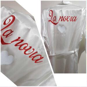 batas personalizados Batas Personalizadas Batas Personalizadas novia