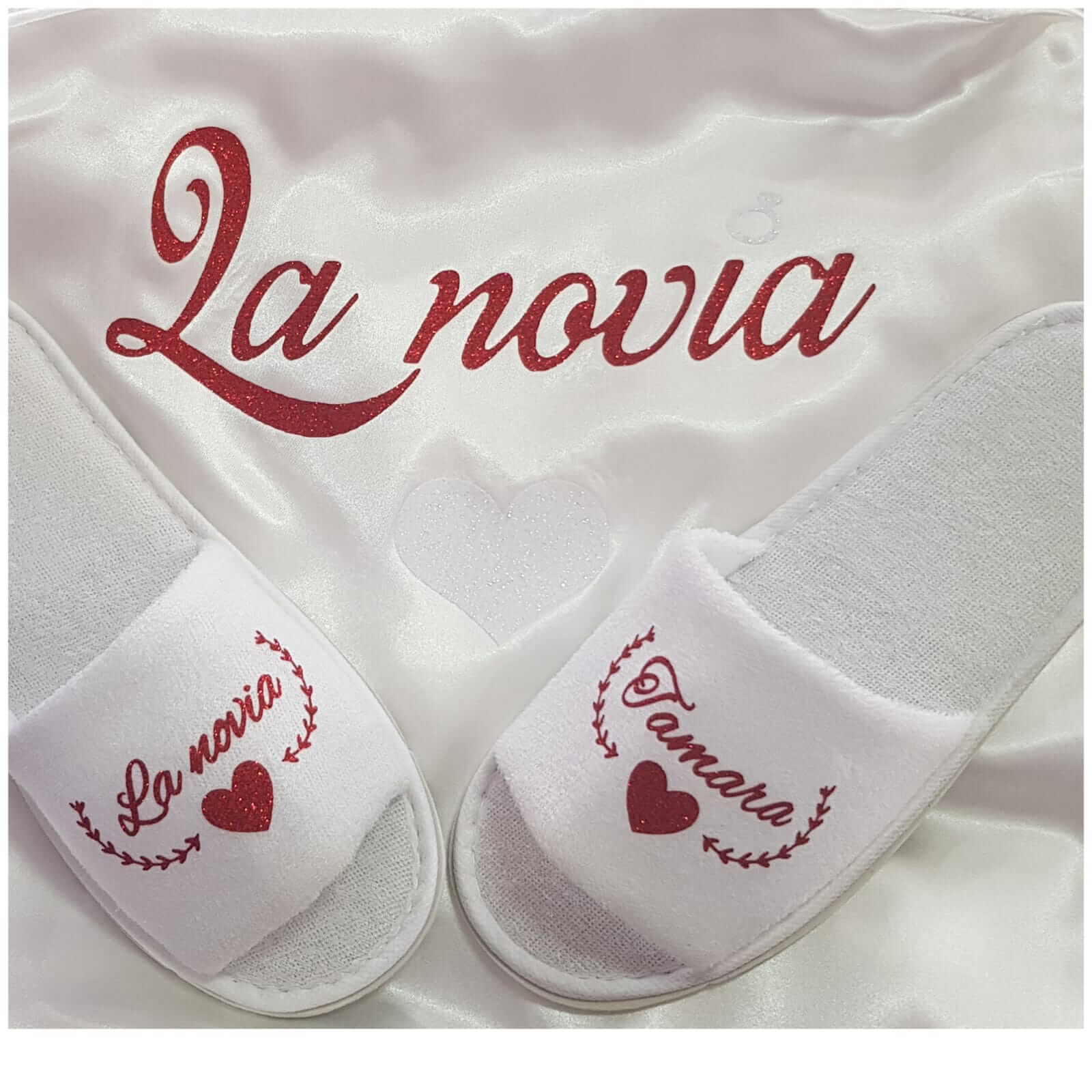 bata personalizada zapatillas personalizadas novia - zapatillas personalizadas novia boda 6 - Bata personalizada y Zapatillas personalizadas