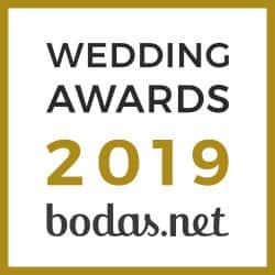 batas de novia - badge weddingawards es ES 1 - Batas de novia personalizadas –  Ligas de novia –  Regalos originales