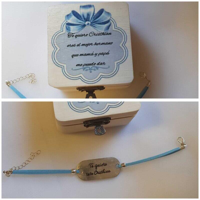 Pulseras para invitadas regalos personalizados
