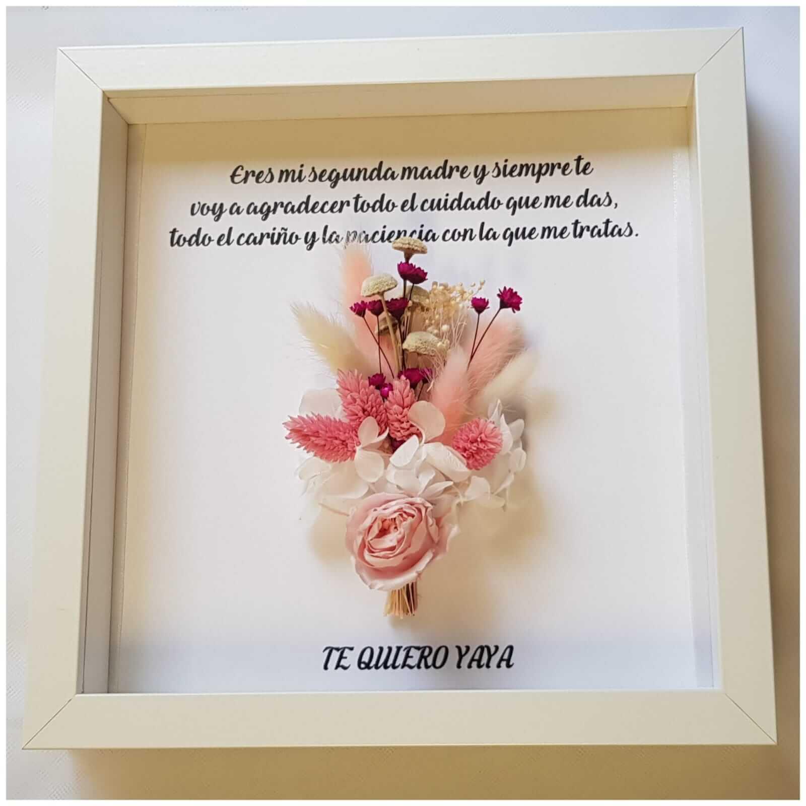 cuadros personalizados | cuadro personalizado cuadro personalizado - Cuadro personalizado realizado con flores preservadas - Cuadro personalizado