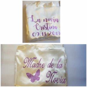 Batas de novia - Bata de novia - Batas personalizadas