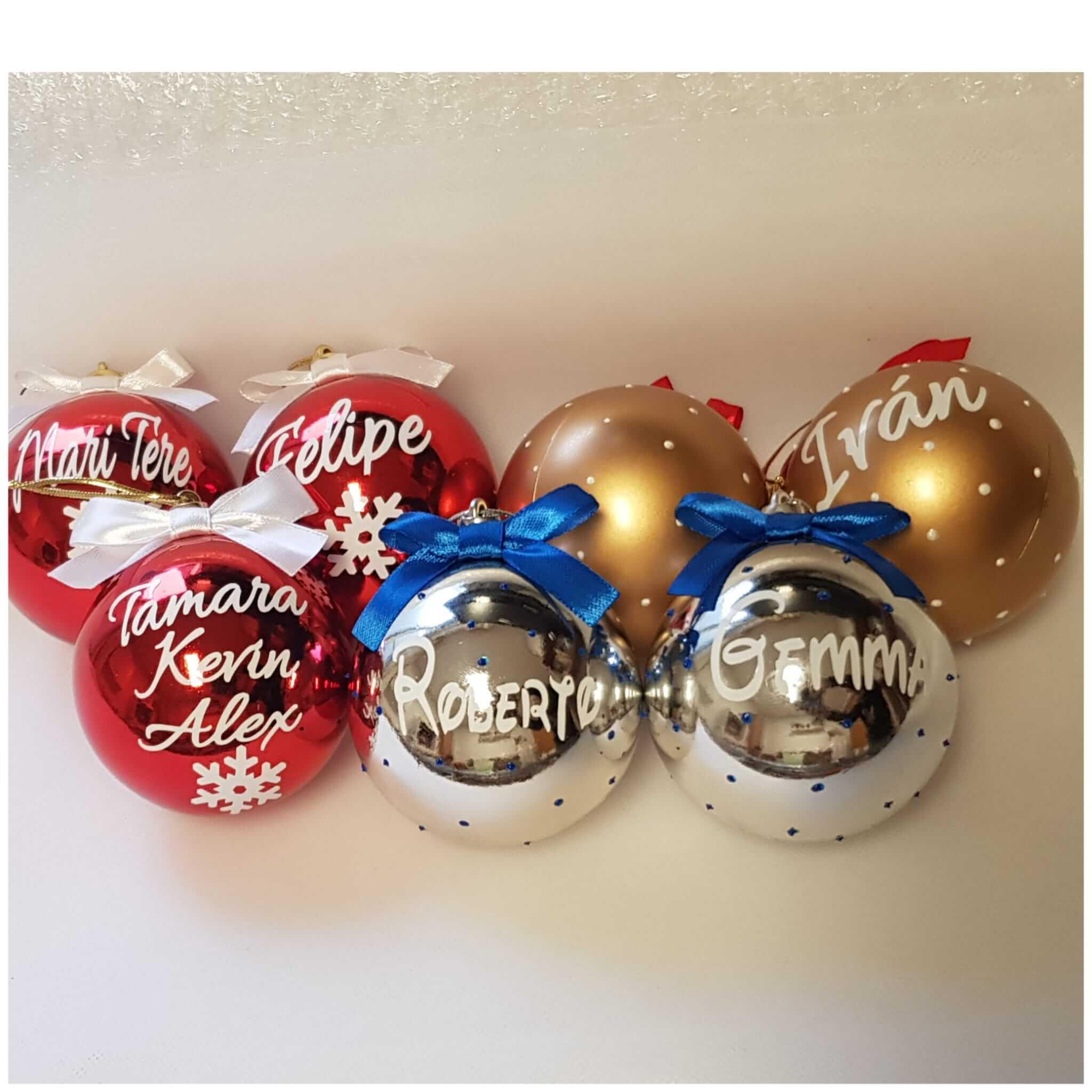 bolas de navidad personalizadas bolas navideñas bola de navidad bolas navidad personalizadas