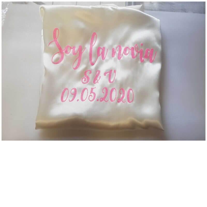 Batas de novia Batas Personalizadas