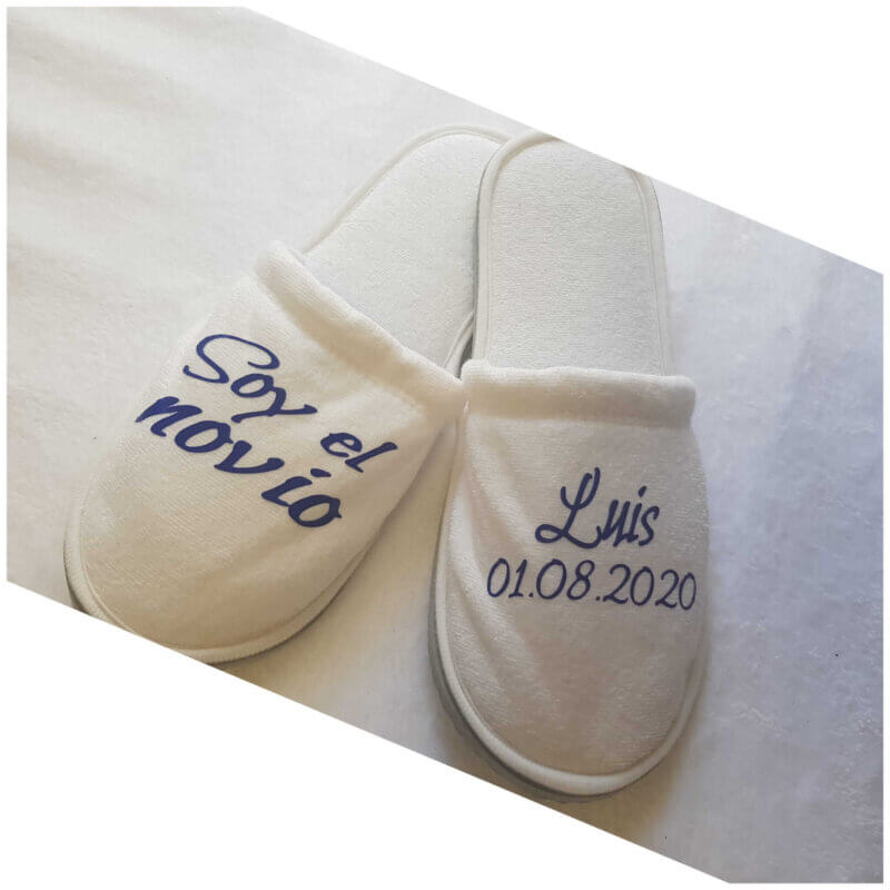 zapatillas para novia