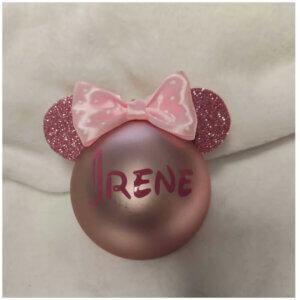 Bola de Navidad Mickey o Minnie